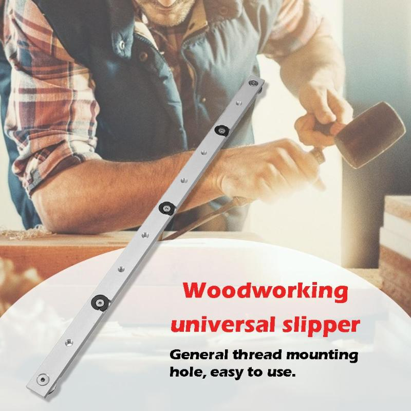 Aluminium Alloy T-tracks Slot Rail Miter And Miter Bar Slider Table Saw Miter Gauge Rod Woodworking DIY ToolS
