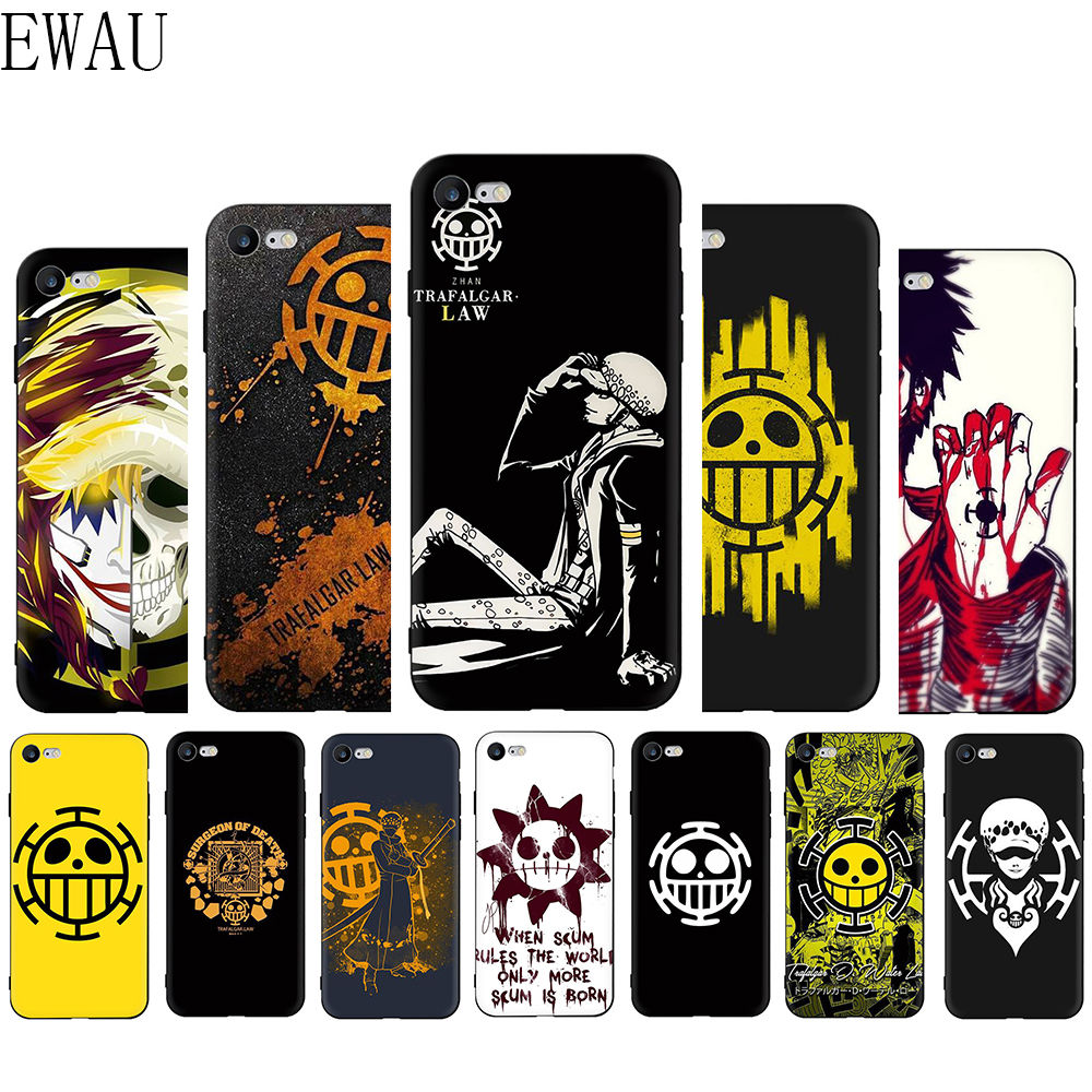 One Piece Trafalgar Law Logo iphone case