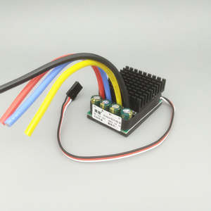 Image 2 - 480A/960A דו כיוונית מברשת ESC 10v 32v 24v 6S חשמל מהירות בקר עבור DIY RC ההפרש מסלול טיפוס מכוניות סירה