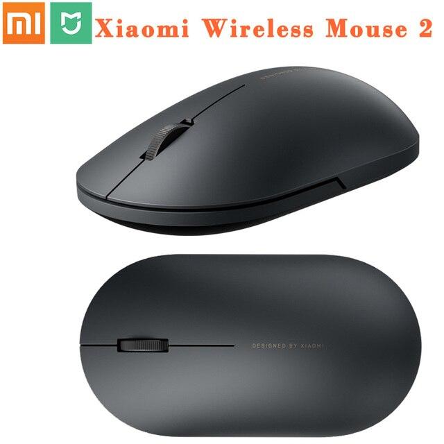 100% oryginalny Xiaomi MI przenośna mysz zdalny bezprzewodowy optyczny RF 2.4GHz Dual Mode podłącz komputer Windows 7 / 8 / 10