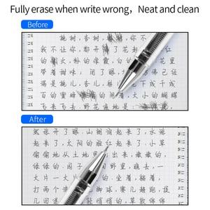 Image 5 - Xong Xóa Được Bút Bi Refill 0.5 Mm Xanh Dương Đen Màu Viết Bút Gel Nạp Lại Tẩy Trường Đồ Văn Phòng Cung Cấp
