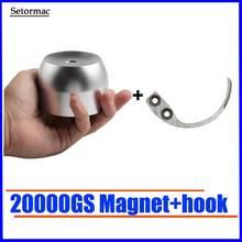 Super segurança tag detacher 20000gs golf tag removedor ímã universal etiqueta de segurança removedor bloqueio magnético chave destacador 100% trabalho