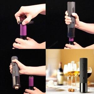 Image 5 - Xiao mi mi mi jia Huohou Automatische Rotwein Flasche Öffner Elektrische Korkenzieher Folie Cutter Cork Out Tool Für Xiao mi Smart Home Kits