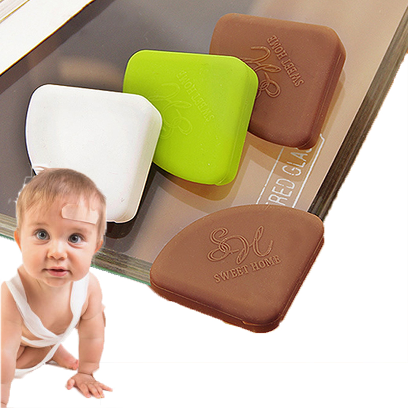 10P. Corner Protector Tasteless Silicone, Child Necessary Protection, Collision Edge Protection, Children Safety, Baby Proof