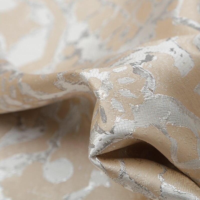 Tissu de mode jacquard personnalisé de haute qualité en or design rétro échelle de dragon totem jupe coupe-vent robe costume tissu - 3