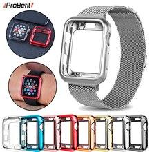 Тонкий мягкий чехол ProBefit из ТПУ для Apple Watch серии 1 2 3 38 мм 42 мм защитный чехол для iwatch серии 4 5 40 мм 44 мм