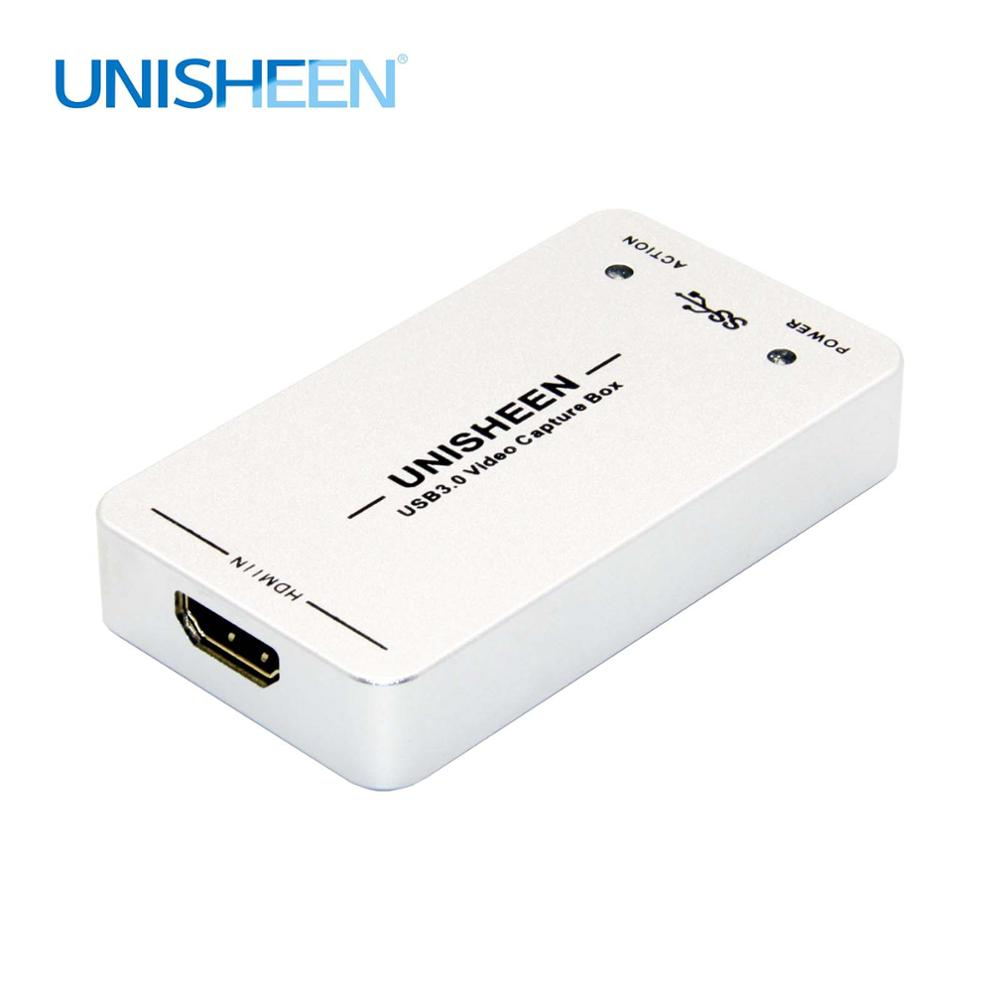 USB3.0 60FPS HDMI zu USB3.0 VIDEO ERFASSEN FPGA Dongle Spiel Streaming Live-Stream Broadcast 1080P OBS/vMix/ wirecast/Xsplit