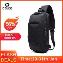 New Multifunction Crossbody Bag for Men Anti-theft Shoulder Messenger Bags