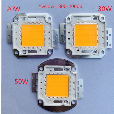 LED CHIP Pure Yellow Orange 20W 30W 50W 38mli 45mli 1800-2000K 1750MA Led Chip High Power Led Bead 32-34V For Led Street Light