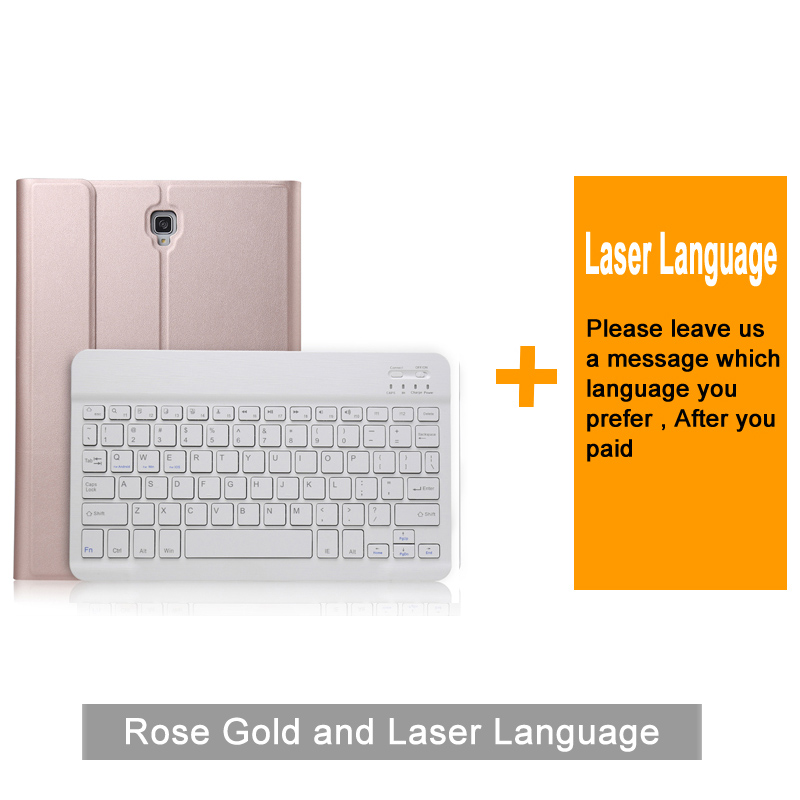 Bluetooth 3.0 tablette clavier étui pour samsung Galaxy Tab A T590/T595 10.5 pouces Mediapad cuir housse de protection support de support - 6