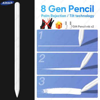 Für Apple Bleistift 2 iPad Stift Für Stylus iPad Pro 11 12,9 2020 2018 2019 6th 7th mini 5 Air 3 mit Palm Ablehnung Tilt empfindlichkeit