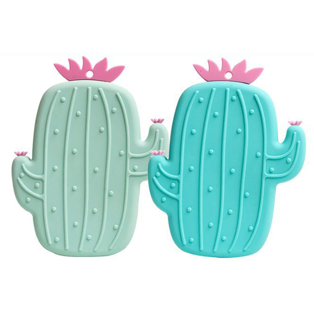 Silicone Cactus Shape Bathroom Bath Brush Facial Scrub Tool Sponge Cleaning Scrubber Super Soft Cleaning Brushes