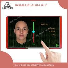 Интеллектуальная модель NEXTION 10,1 , многофункциональный резистивный/емкостный сенсорный жк дисплей без корпуса