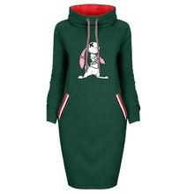 Зимнее платье для девочек Женская стильная футболка с изображением