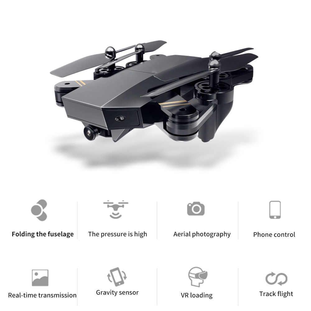 """S9T Квадрокоптер 4K HD воздушная долгая жизнь Складная wifi камера Черный Самолет запасная камера высокой четкости аэрофотосъемка HD аэрофотосъемка самолет детские игрушки """"Воздушная карта, чтобы пройти"""
