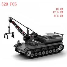 hot military WWII technics German Army equipment Supply vehicle No. 4 tank weapons war Building Blocks model bricks toys gift