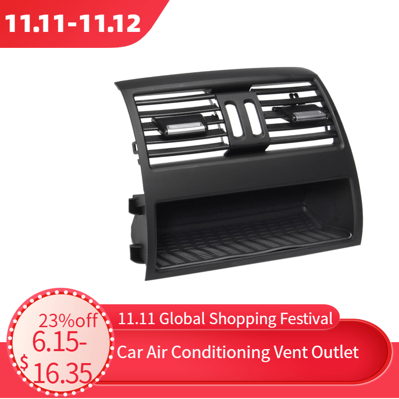 Air Conditioning Vent Outlet Rear Center Console Fresh Air Outlet Vent Grille Cover for BMW 5 SerieF10 F18 Auto Accessories Part-in Air-conditioning Installation from Automobiles & Motorcycles
