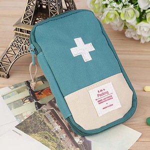 Image 2 - Outdoor First Aid Emergency  Bag Medicine Drug Pill Box Home Car Survival Kit Emerge Case Small 600D Oxford Pouch
