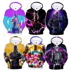Jogo de tiro 3d impressão hoodie crianças hoodies streetwear hip hop moletom com capuz quente harajuku meninos meninas roupas de natal