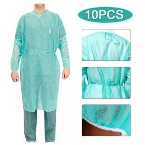 Isolation-Clothing Nursing-Suit Protective Disposable Waterproof Anti-Spitting Unisex