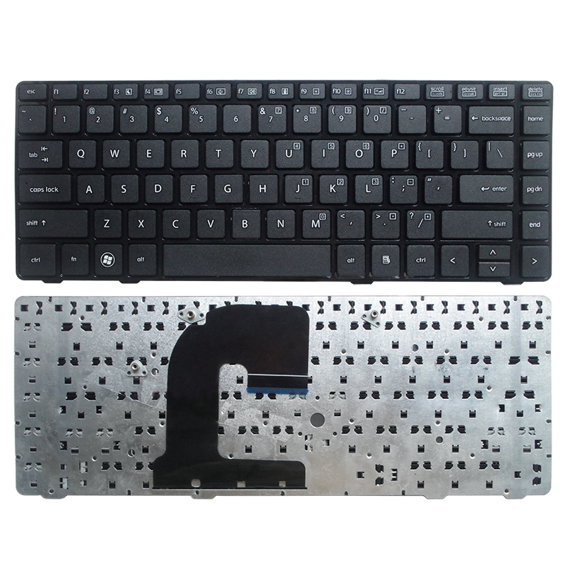 New US <font><b>Keyboard</b></font> For <font><b>HP</b></font> <font><b>EliteBook</b></font> 8470B 8470P 8470 8460 <font><b>8460p</b></font> 8460w ProBook 6460 6460b 6470 laptop Without Point stick NEW image