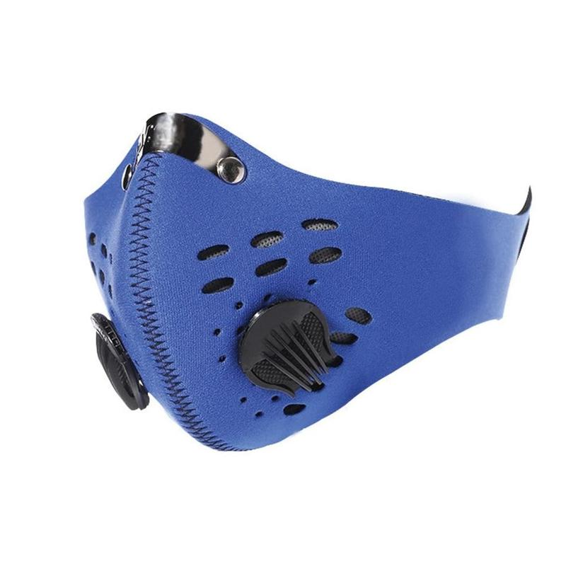 Sport Face Mask PM 2.5 Anti-Pollution Anti Dust Bike Mouth Mask With Activated Carbon Dust Mask For Running Cycling