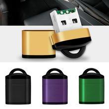 Usb SD кард-ридер USB 2,0 маленький кард-ридер высокоскоростной кард-ридер для ноутбуков Аксессуары Ordinateur портативный