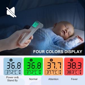 Image 2 - ELERA תינוק מדחום אינפרא אדום הדיגיטלי LCD גוף מדידה אוזן מצח ללא מגע למבוגרים חום IR ילדי Termometro