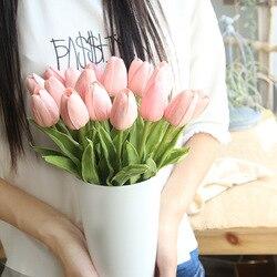 Imitacja kwiatów Pu Mini tulipan