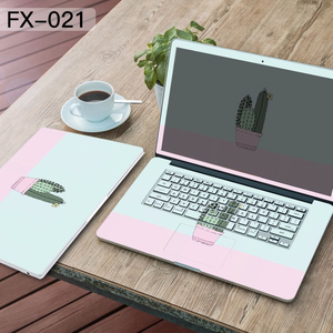 13 14 15 inch Laptop Case Sticker Notebook Protector Skin for hp/acer/asus/lenovo/mac Cover Universal Decorative Stickers
