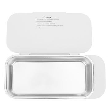Ultradźwiękowy przyrząd do czyszczenia szkieł okularowych czyszczenie biżuterii maszyna do czyszczenia drgań o wysokiej częstotliwości tanie i dobre opinie VGEBY Other Ultradźwiękowa Ultrasonic Cleaner 10 minut
