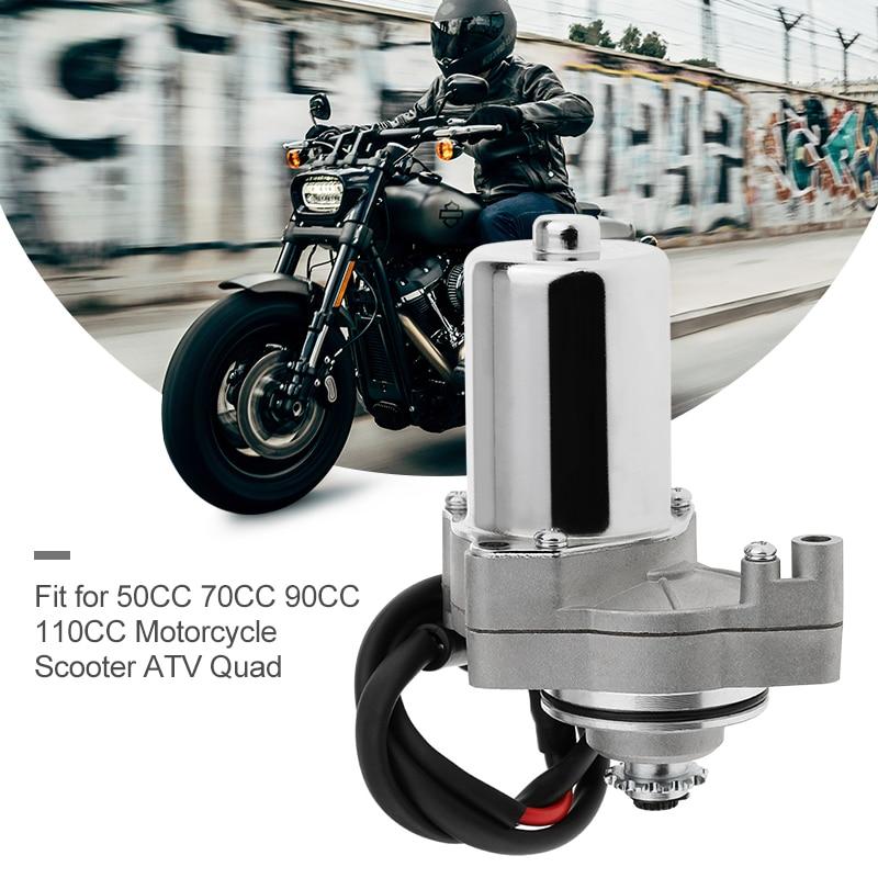 1 peças Da Motocicleta Motor de Arranque Elétrico 160mm * mm * 80 90mm Para 50CC 70CC 90CC 110CC Motor quads 3-parafuso Da Motocicleta ATV Scooter Etc