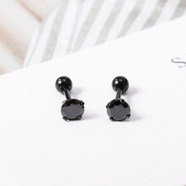 1 Pair Ear Piercing Stud Earrings for Girl Crystal Helix Piercing Cartilage Earrings Gun Ball Surgical.jpg 640x640 - 1 Pair Ear Piercing Stud Earrings for Girl Crystal Helix Piercing Cartilage Earrings Gun Ball Surgical Steel Body Jewelry Punk