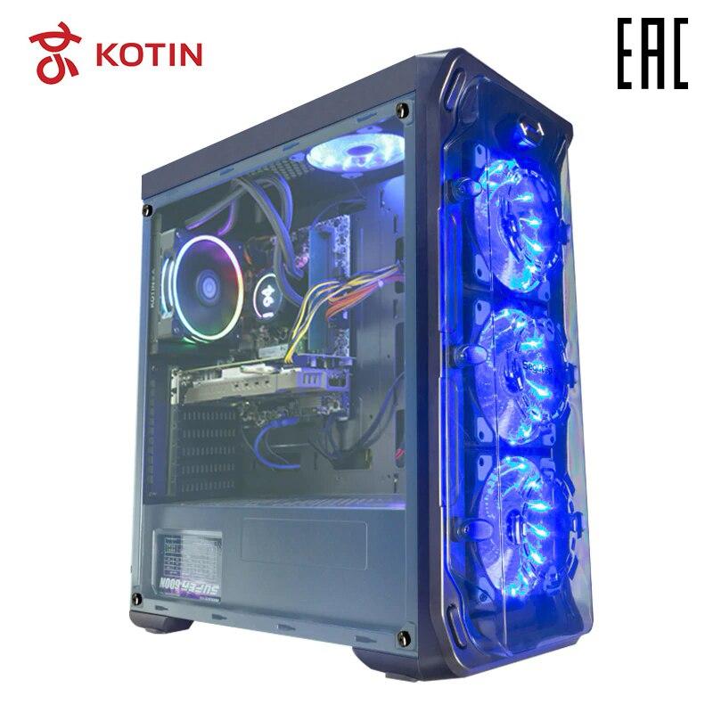 Ordinateur de jeu KOTIN GBW-1 Intel I7 8700/8 DDR4/GTX1060/240 GB SSD + 1 GB/DOS