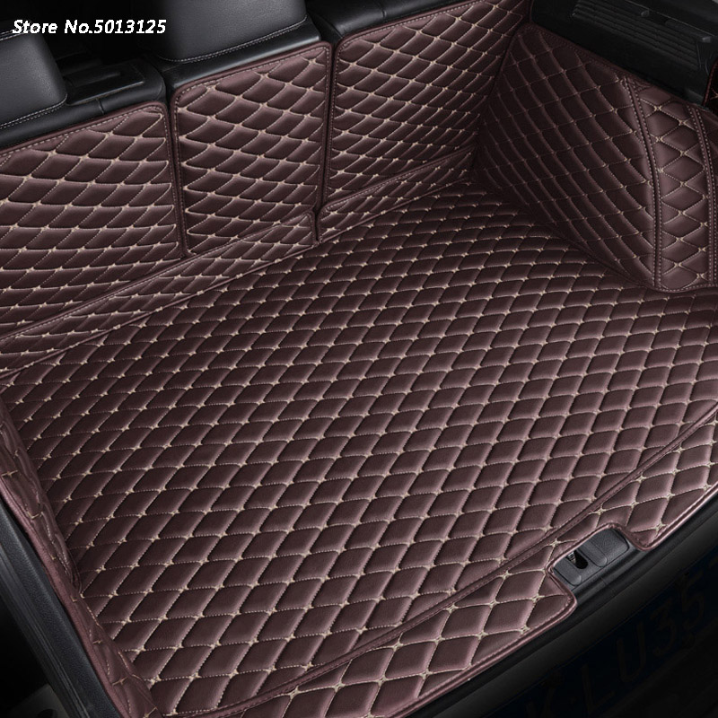 Car All inclusive Rear Trunk Mat Car Boot Liner Tray Rear Trunk Accessories For <font><b>Toyota</b></font> <font><b>RAV4</b></font> <font><b>RAV</b></font>-<font><b>4</b></font> <font><b>2014</b></font> <font><b>2015</b></font> <font><b>2016</b></font> <font><b>2017</b></font> 2018 image
