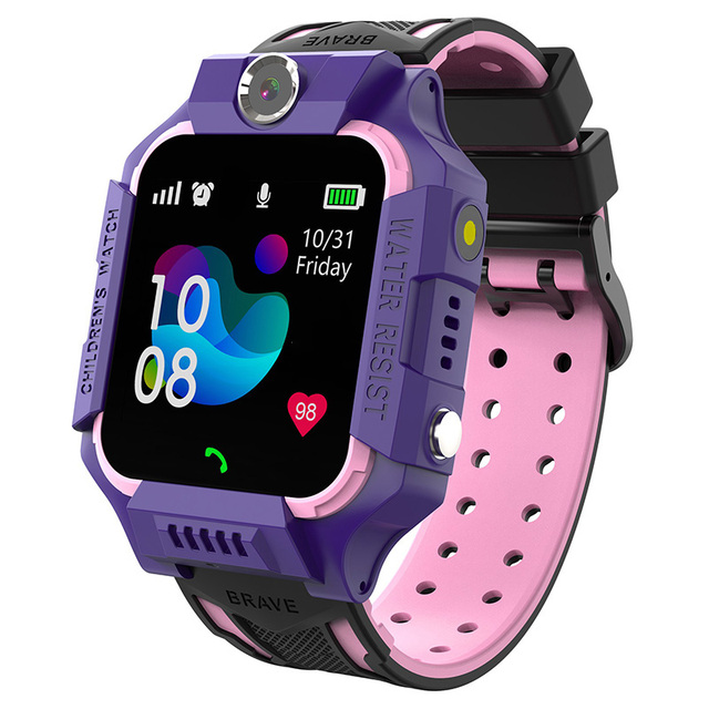 2019 S19 Waterproof Smart Watch for Kids LBS Tracker Child SOS Call Anti Lost Baby Watch Children Phone Watches for Boy girls 4