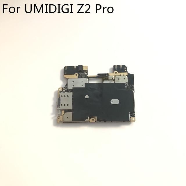 "UMIDIGI Z2 Pro لوحة رئيسية مستعملة 6G RAM + 128G ROM لوحة أم لـ UMIDIGI Z2 Pro MTK6771 Helio P60 6.2 ""2246x1080 شحن مجاني"