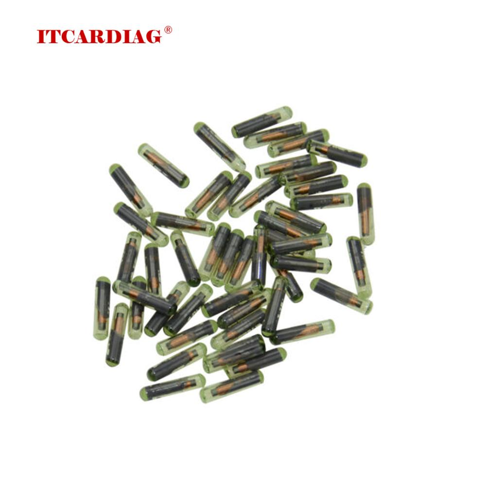 Car Key Transponder ID48 T6 Crypto Unlocked Chip For Audi/Porsche /Seat /Skoda Glass Chip Car OEM id 48 megamos crypto chip