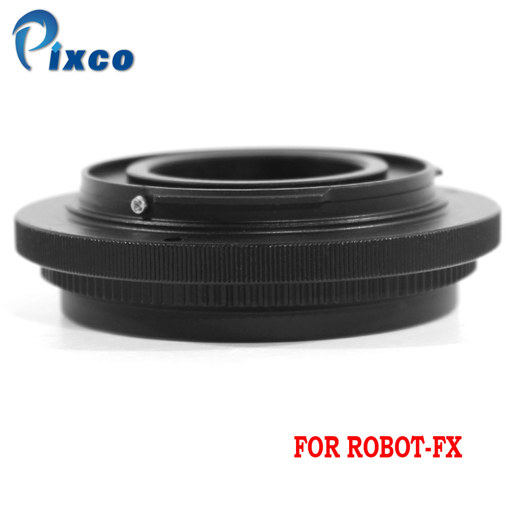 Pixco for Robot FX Lens Adapter Suit For Robot screw mount lens to Fujifilm X Mount Camera Adapter Lens Adapter    - title=