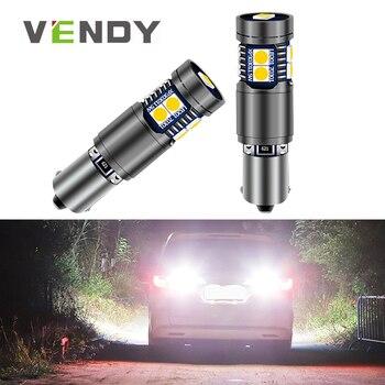 1pcs Car LED Reverse Light Canbus BA9S BAX9S BAY9S H21W Bulb For audi a3 r8 s3 bmw 323i x3 x6 vw beetle touareg cc volvo c70 s60 2pcs high power canbus error free white amber ba9s t4w bax9s h6w bay9s h21w 64136 xbd 11w led lights reverse parking bulb lamps