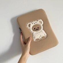 Чехол для iPad 9,7 10,5 11 дюймов ягненка узор милый мешок для девочки высокое качество Ins стиль сумка для хранения моды мешок