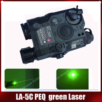 Element  Airsoft Tactical LA-5C PEQ Green Laser 15 UHP Appearance Red/IR Laser and flashlight For Hunting EX419