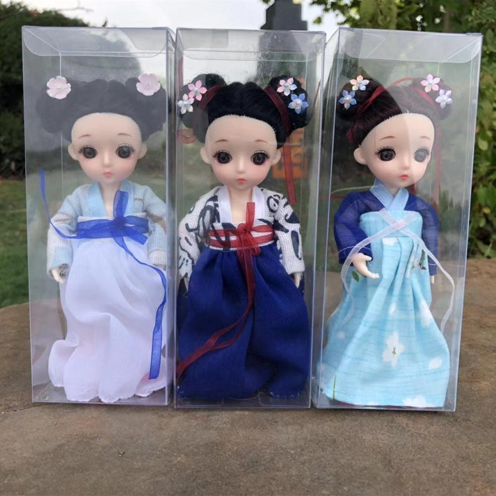 13 movable joints Chinese tradition Hanfu princess dress shoes style 16 cm 1 / 8 doll toys <font><b>BJD</b></font> fashion doll toys image