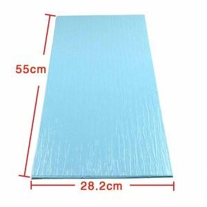 DIY PVC blue color pattern bui