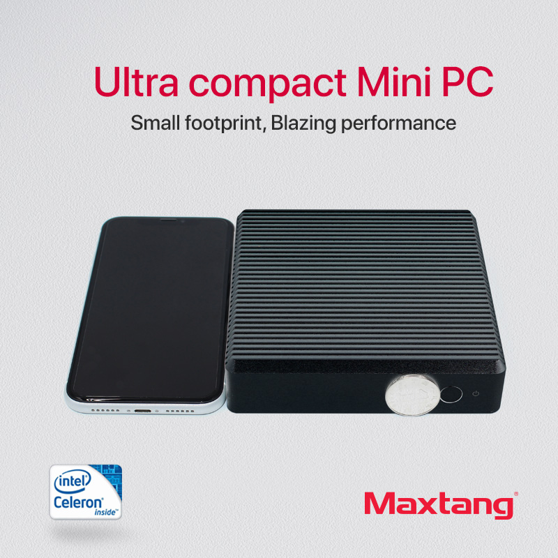Linux Mini PC Computer Intel Celeron J1900 Quad-core HDMI VGA 300M WiFi Gigabit Ethernet Minipc NUC