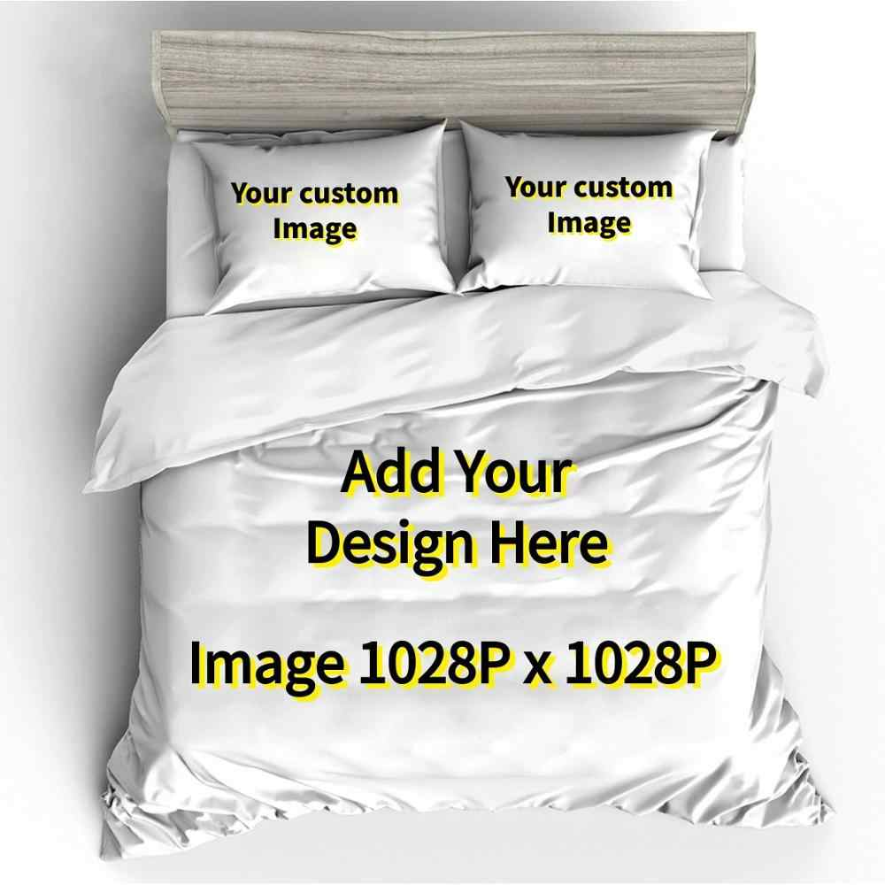Customized Design 3D Printed Bedding Set Duvet Cover Set Pillowcase Bed Sheet . Submit Image 1028Px1028P Any Design,Picture,Size