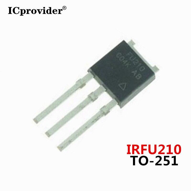 10 шт./лот IRFU210 FU210 TO-251 200V 2.6A