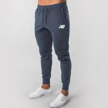 2021 New Fashion Men's Track Pants Long Trousers gym Tracksuit Fitness Workout Joggers Sweatpants Casual Sweatsuit Pants Men