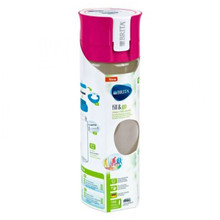Фильтр-бутылка Fill& Go Vital Brita, со сменным картриджем, розовая, 0,6 л