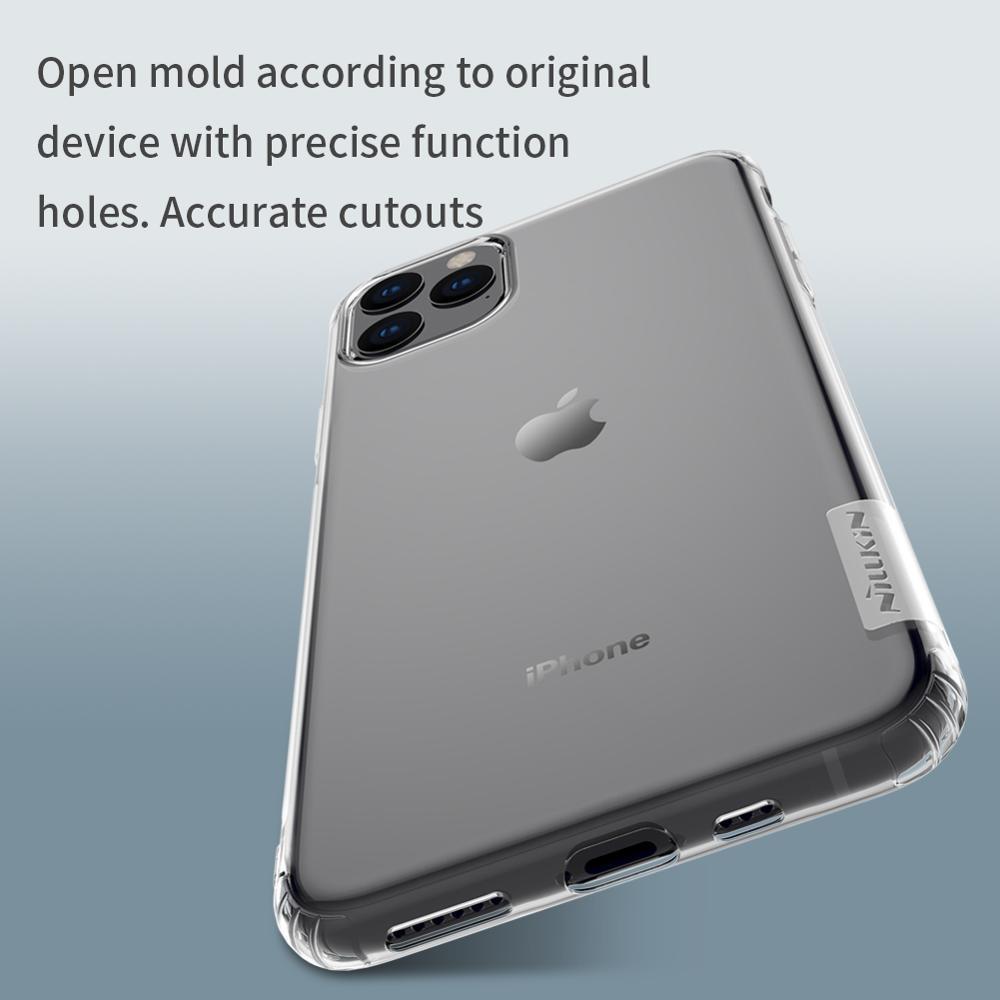 Kasus untuk iphone 11 Pro Max NILLKIN Nature TPU Transparan Batal - Aksesori dan suku cadang ponsel - Foto 3